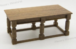 59b. Six-Leg Refectory Table